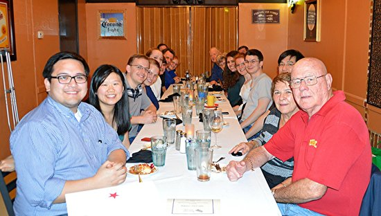 Blue Corn Harvest Bar and Grill: Friends and family at the Blue Corn