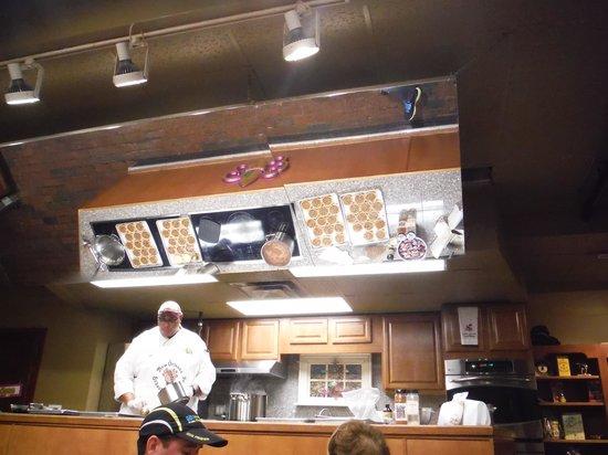 New Orleans School of Cooking: Chef preparing food
