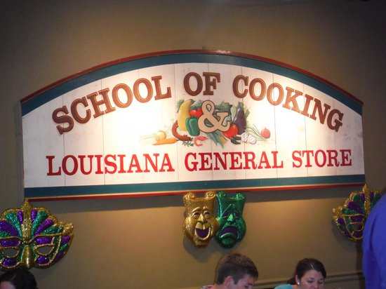 New Orleans School of Cooking: Sign in Classroom