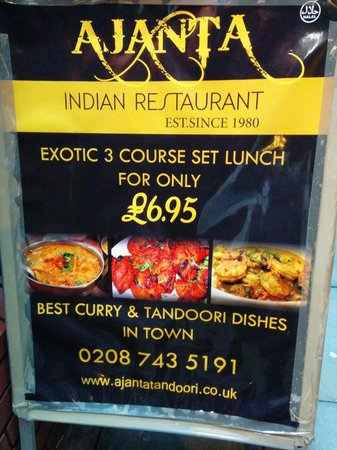 Great indian restaurant in south woodford review of for Ajanta indian cuisine