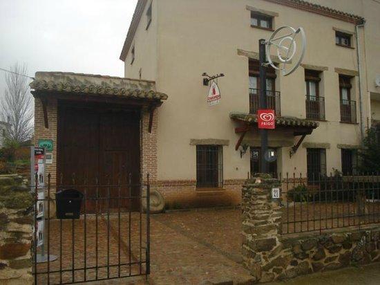 Aldeanueva de Barbarroya, Spanje: Entrada a la Casa Rural