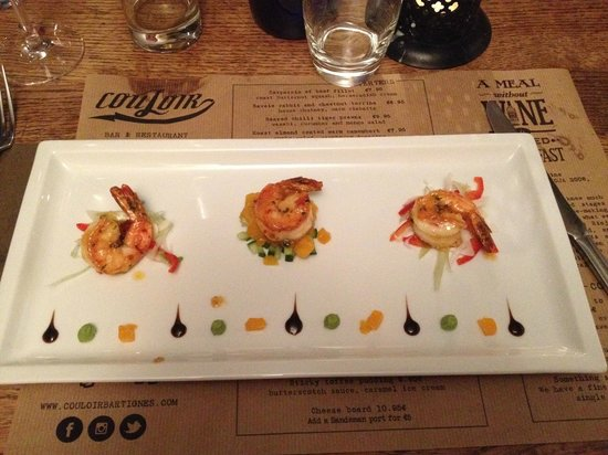 Couloir Bar & Restaurant : King Prawn Starter