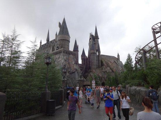 Universal's Islands of Adventure : Castelo do Harry Potter