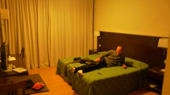 Quality Hotel Delfino Venezia Mestre: lit de 180