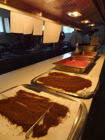 The Tasting Room: Mise-en-place