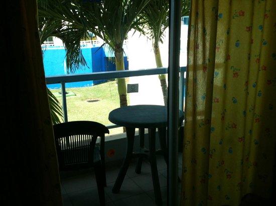 Hotel Palma Real: The balcony view (large balcony)