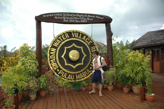 Sipadan Water Village Resort Mabul Island: Герб Water Village