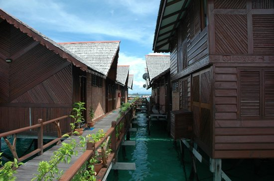 Sipadan Water Village Resort Mabul Island