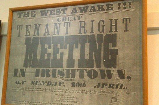 Michael Davitt Museum: Tenant Right Public meeting