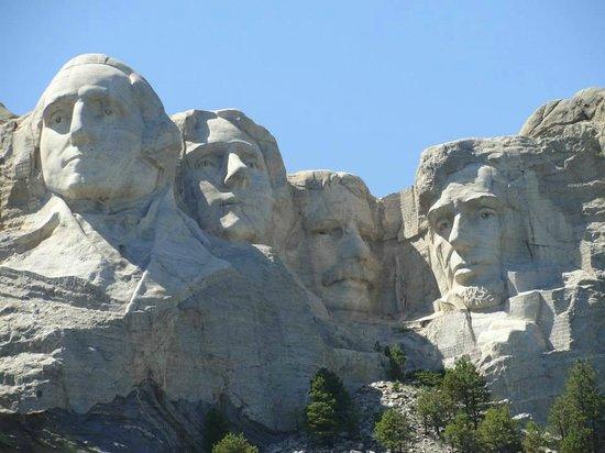 Mount Rushmore National Memorial: Mount Rushmore