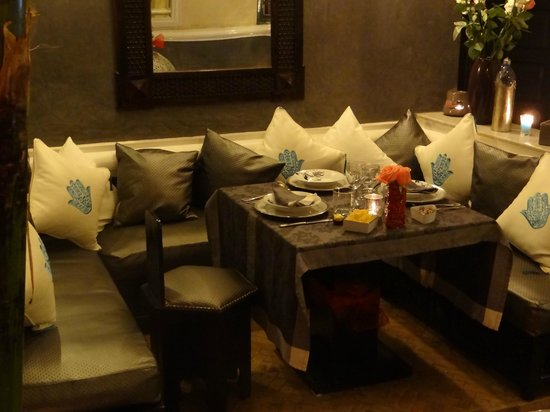 Riad Spa Sindibad: Le salon