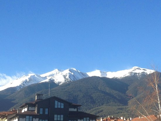 Pirin River Ski & Spa: The view from our apartment balcony (32)