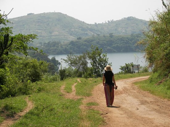 Kitojo Tourist Home: The walk to the crater lakes