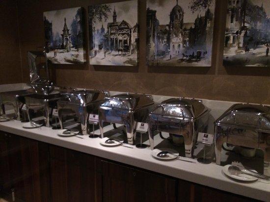 Hotel Bawa Continental : Breakfast buffet