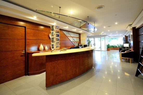 Hotel Ramblamar : Recepción