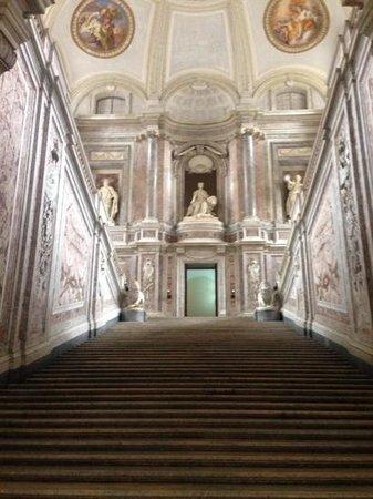The Royal Palace at Caserta: entrancy