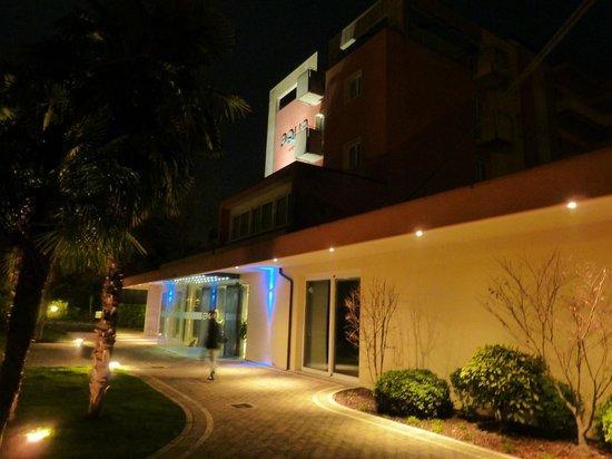 Hotel Aqua: ingresso