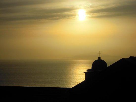 Podere Don Peppe 1884: vista sul tramonto dalla terrazza
