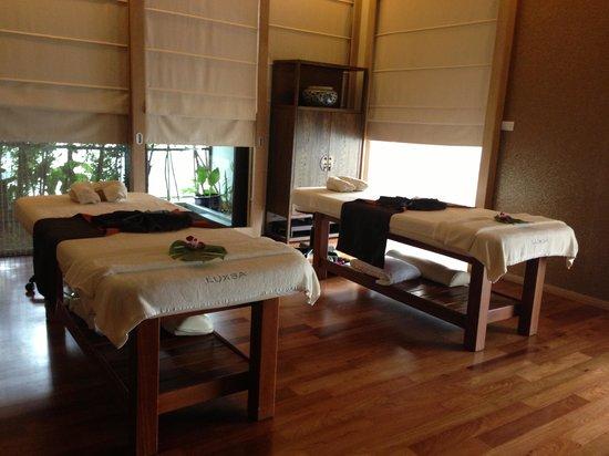 Hansar Bangkok Hotel : the spa
