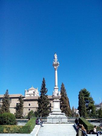 The fuente del triunfo gardens picture of the fuente del for Triunfo jardin granada