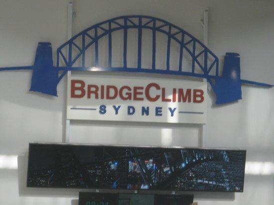 Sydney Harbour Bridge: here we go