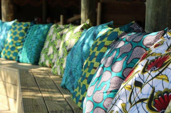 Chobe Bakwena Lodge: Tasteful decor
