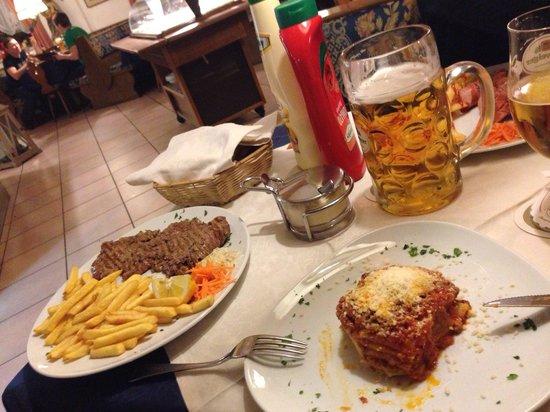 Residence Ristorante Pizzeria Kamerloy: Принесли за 10 минут!