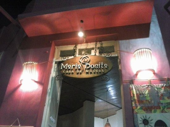 Restaurante maria bonita picture of maria bonita casa de massas lencois tripadvisor - Restaurante casa maria ...