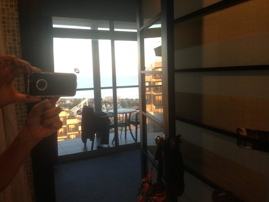Limak Lara De Luxe Hotel&Resort: View from bathroom