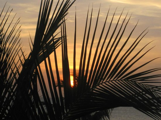 KonoKono Beach Resort : sun set pool bar