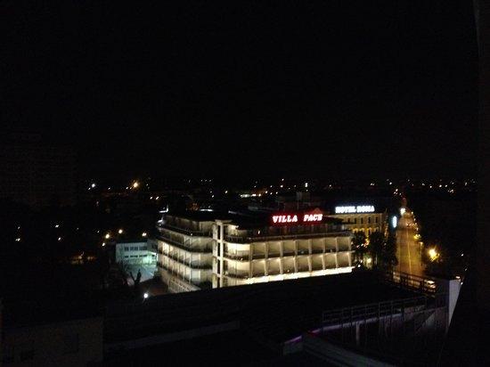 Panoramic Hotel Plaza: Vista dalla camera