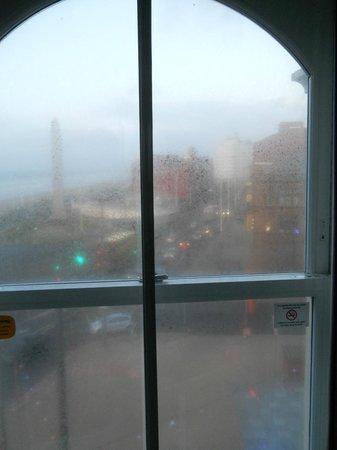 Ibis Styles Blackpool: difficile d'apercevoir la mer