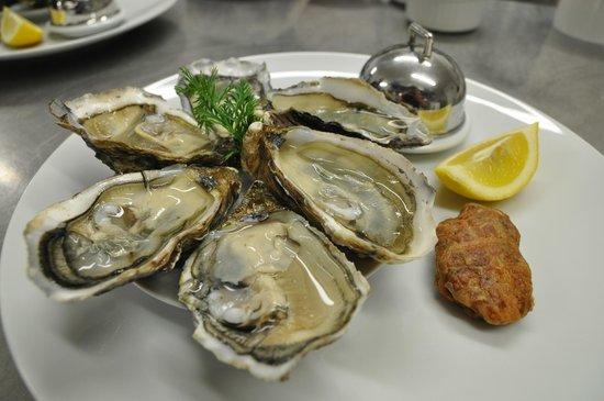 Le moulin de la Tardoire : l'assiette d'huîtres spéciales n°3