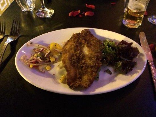 Akbar's: Masala fish starter