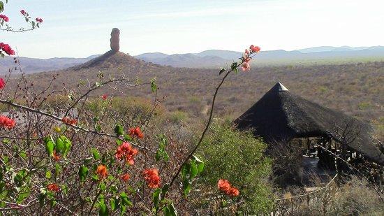 Vingerklip Lodge: paesaggio