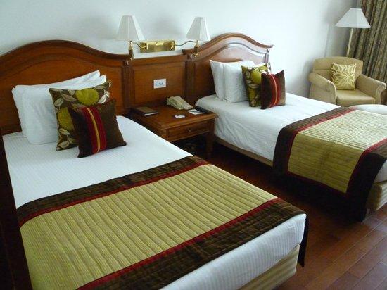 Jaypee Palace Hotel & Convention Centre Agra : Slaapkamer