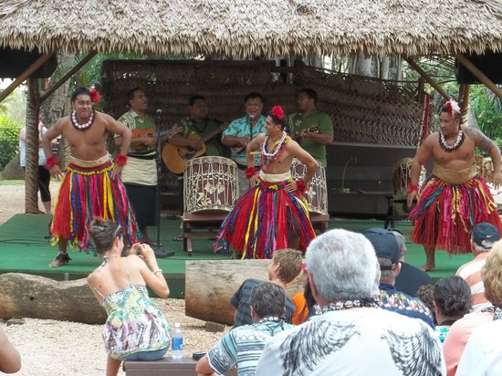 Polynesian Cultural Center: One of the many demonstrations