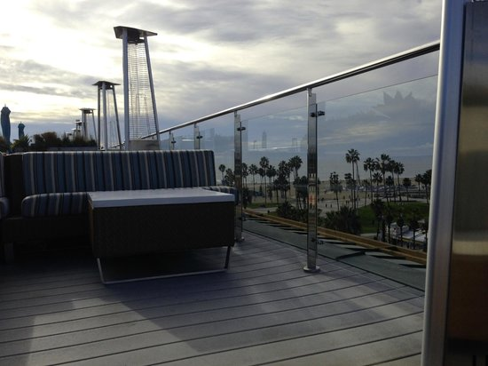 Hotel Erwin rooftop bar