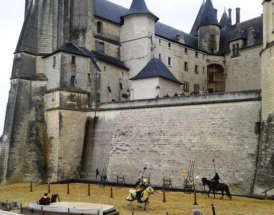 Château de Saumur : La joute