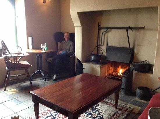 The Bushmills Inn Hotel: warming up at the fire after an exhilarating walk on the beach