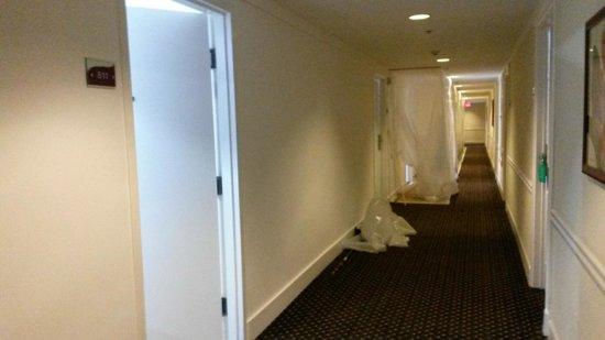 Hotel Riu Plaza Miami Beach: Hombres trabajando al lado del cuarto