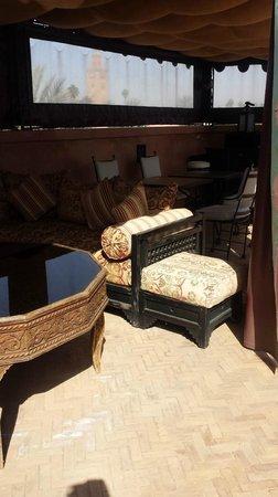 Dar Sholmes: Roof terrace