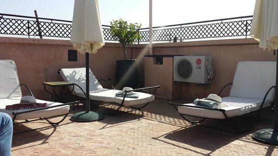 Dar Sholmes: Lovely roof terrace