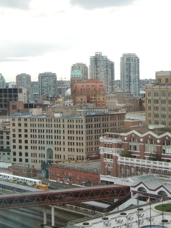 Pan Pacific Vancouver: City View