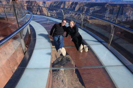 Grand Canyon Skywalk: Photo From the Skywalk