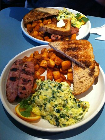 Barnaby's Cafe: green eggs