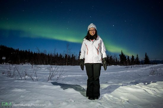 The Aurora Chasers by Ronn & Marketa Murray : Ronn's portrait of me! Love it :)