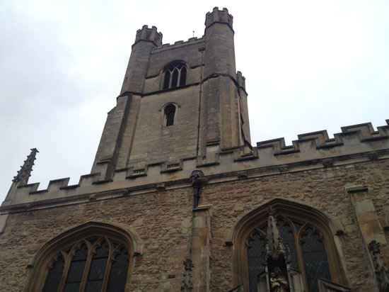 Great St Mary's Church (Church of England): outside view