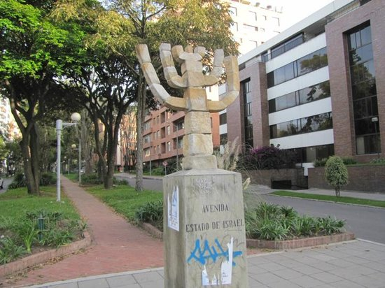 Holiday Inn Express Bogota: The Menorah of Israel, nearest block