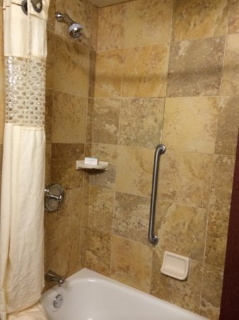 Hampton Inn & Suites Nashville - Vanderbilt - Elliston Place: bathroom